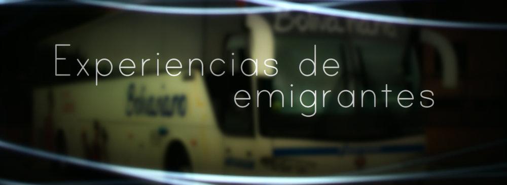Experiencias de emigrantes