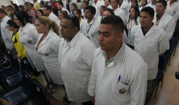 Médicos venezolanos en Chile