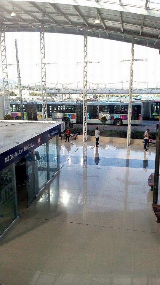 Terminal de buses en Ecuador