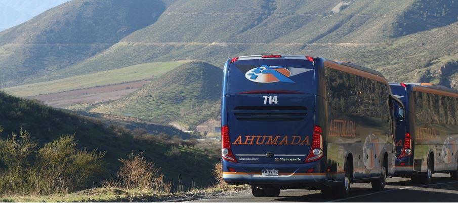 Buses ahumada internacional Chile a Argentina en bus