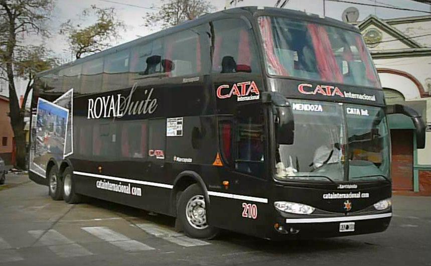 Chile a Argentina en bus