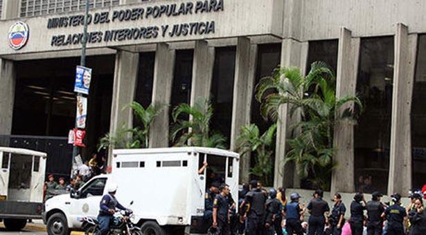 Ministerio interior justicia paz