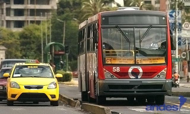Transporte publico en Ecuador