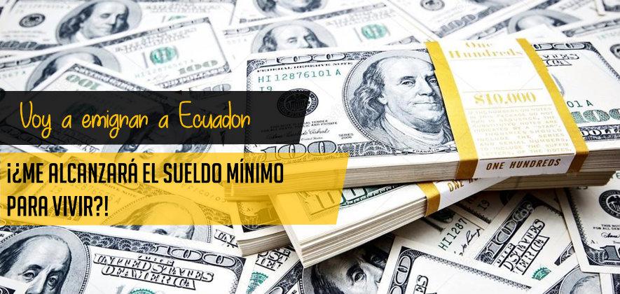 Canasta básica y sueldo mínimo Ecuador 2018