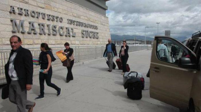 Aeropuerto Mariscal Sucre en Ecuador
