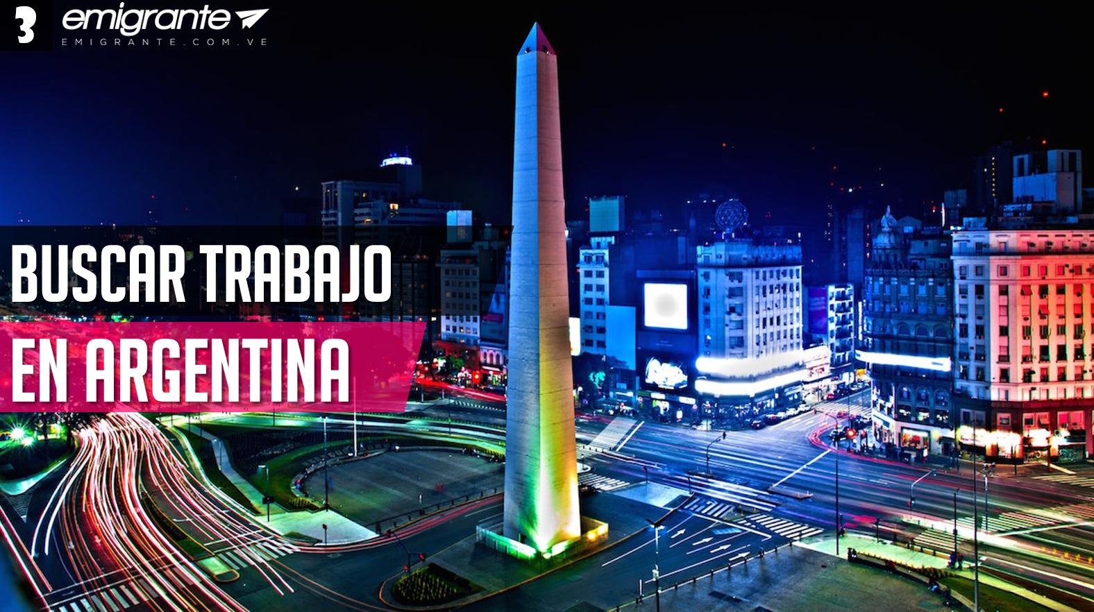 Buscar trabajo en Argentina 2018