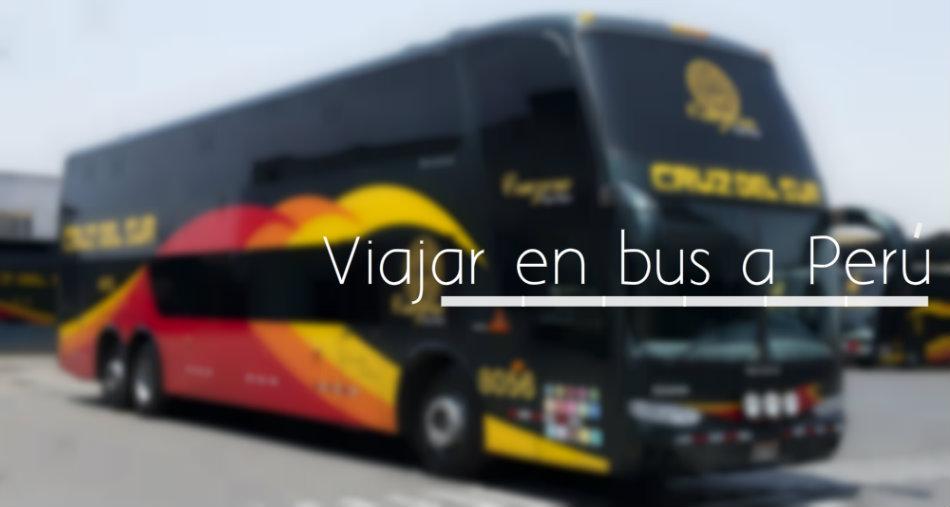 Viajar en bus a peru desde Venezuela