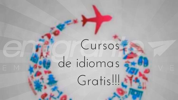 Cursos de idiomas gratis para emigrar