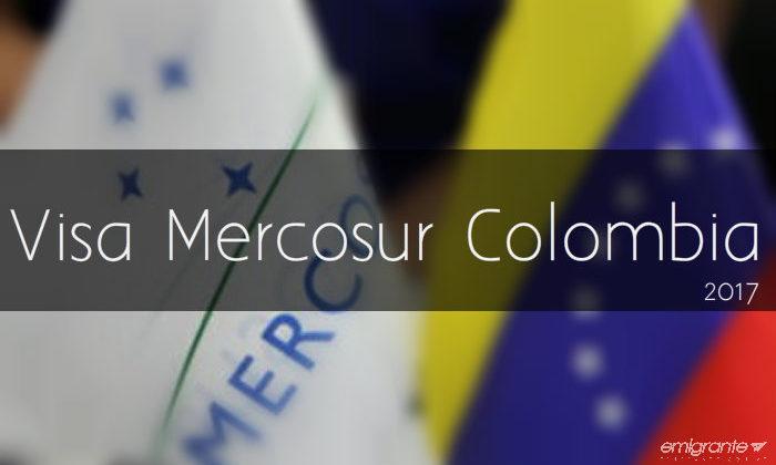 Visa Mercosur para venezolanos en Colombia 2017