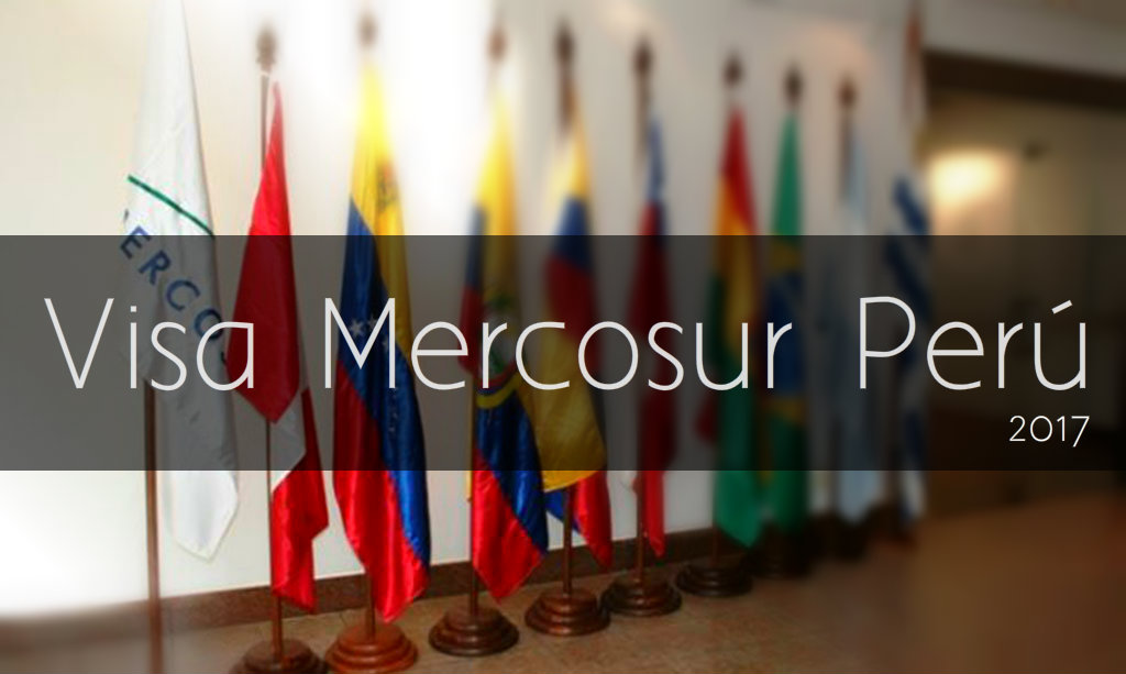 Visa Mercosur en Perú para venezolanos 2017