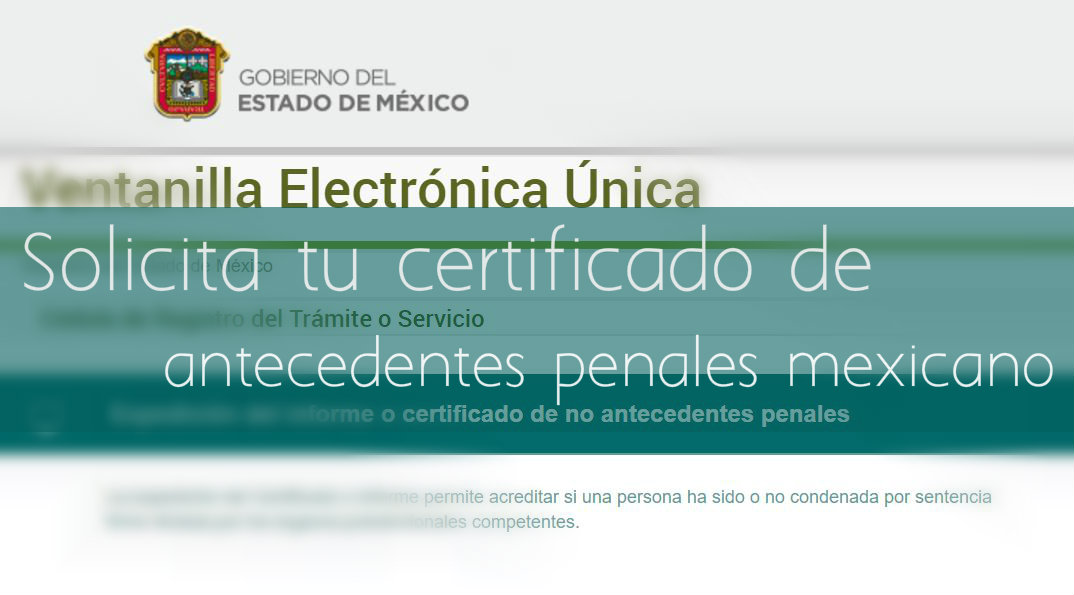 Certificado de antecedentes penales en México