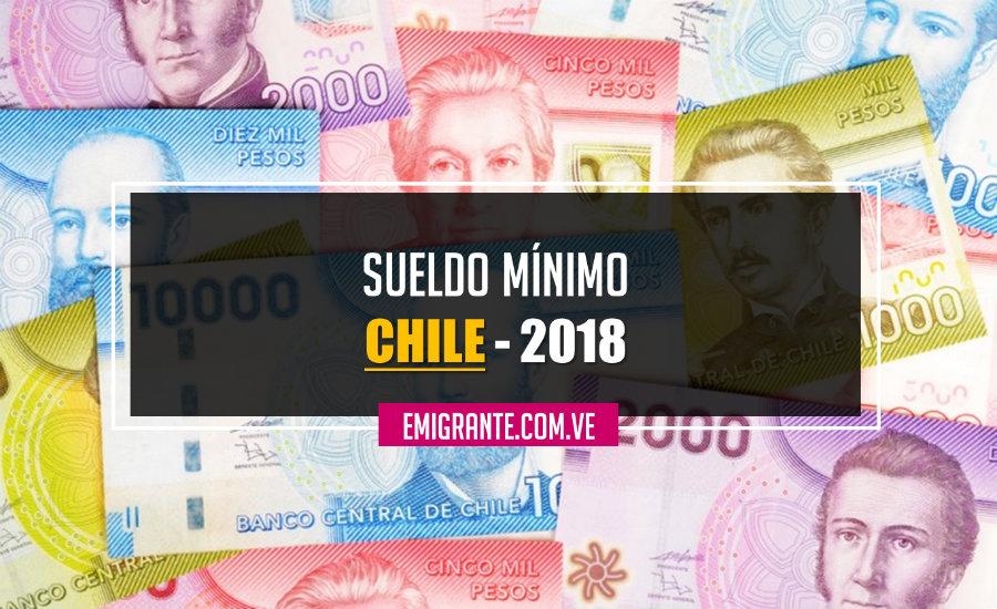 Cuál es el sueldo mínimo en Chile Enero 2018