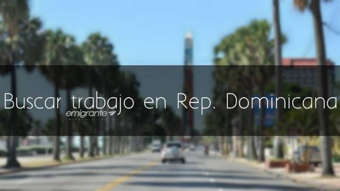 Buscar trabajo en República Dominicana