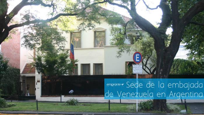 Embajada de Venezuela en Argentina