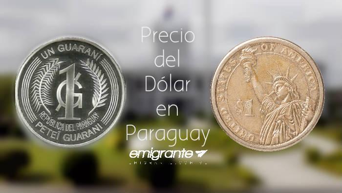 Precio del dólar en Paraguay