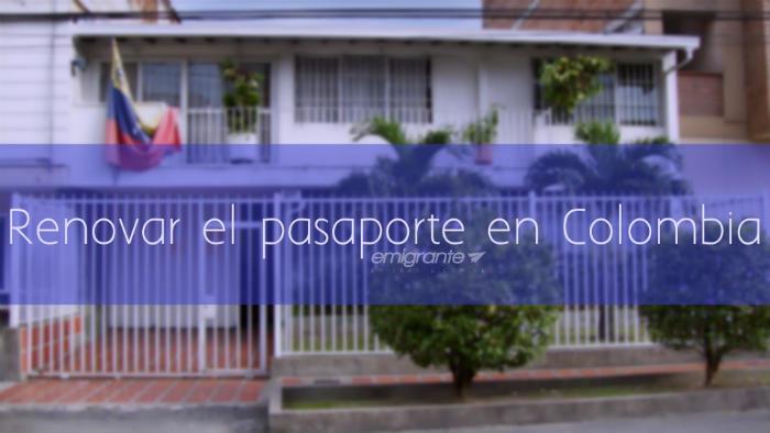 Renovar pasaporte venezolano en Colombia