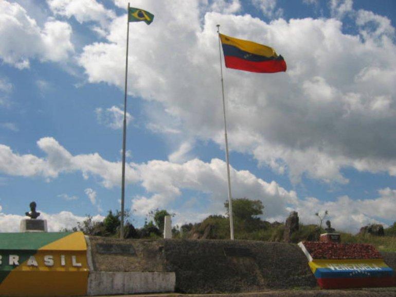 Brasil y Venezuela juntos como hermanos