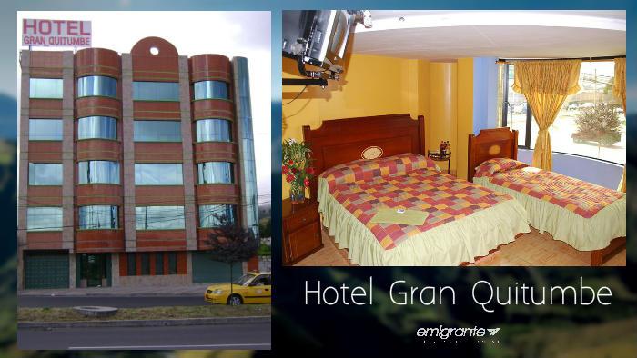 Hotel Gran Quitumbe cerca del terminal de quito