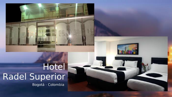Hotel Radel Superior cerca del terminal de buses de Bogotá