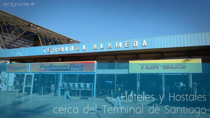 Hoteles cerca del terminal de Santiago