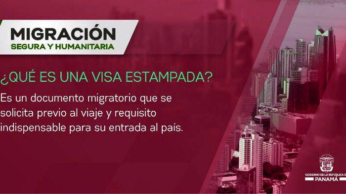 Que es una visa estampada