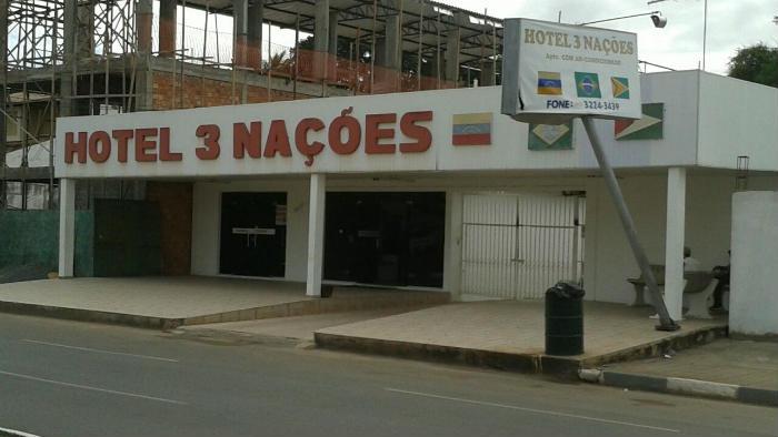 3 Nacoes (3 naciones) cerca del terminal de Boa Vista