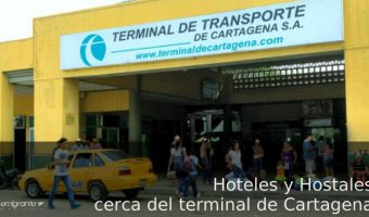 Hospedarse cerca del terminal de buses de Cartagena