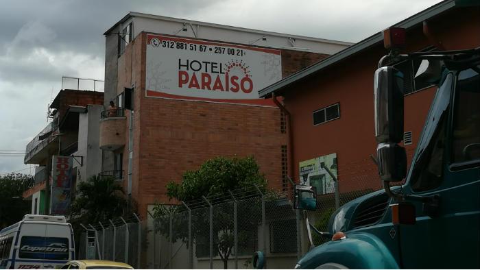 Hotel Paraiso cerca del terminal norte de Medellín