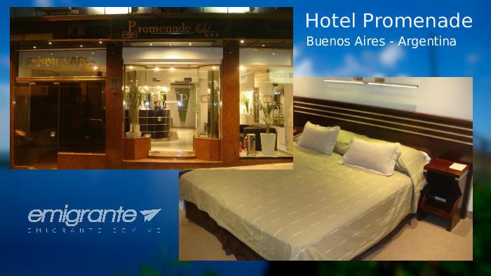 Hotel Promenade cerca del terminal de Buenos Aires