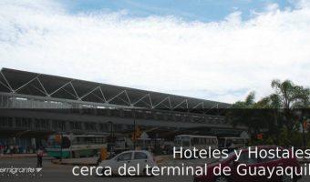 hospedarse cerca del terminal de buses de Guayaquil