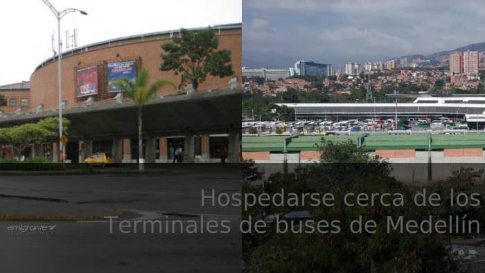 hospedarse cerca del terminal de buses de Medellín