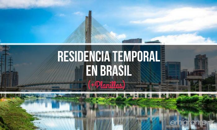 Cómo obtener Residencia temporal en Brasil