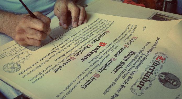 Legalizacion de titulos universitarios en Venezuela
