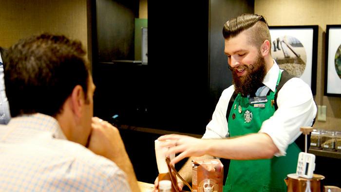 Oficio para emigrar barista