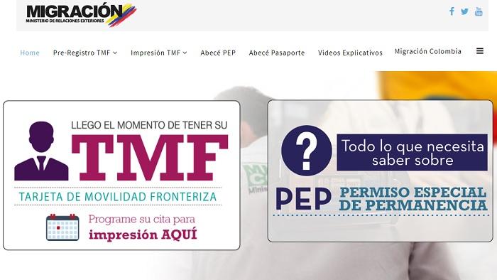 Tarjeta de Movilidad Fronteriza en Colombia