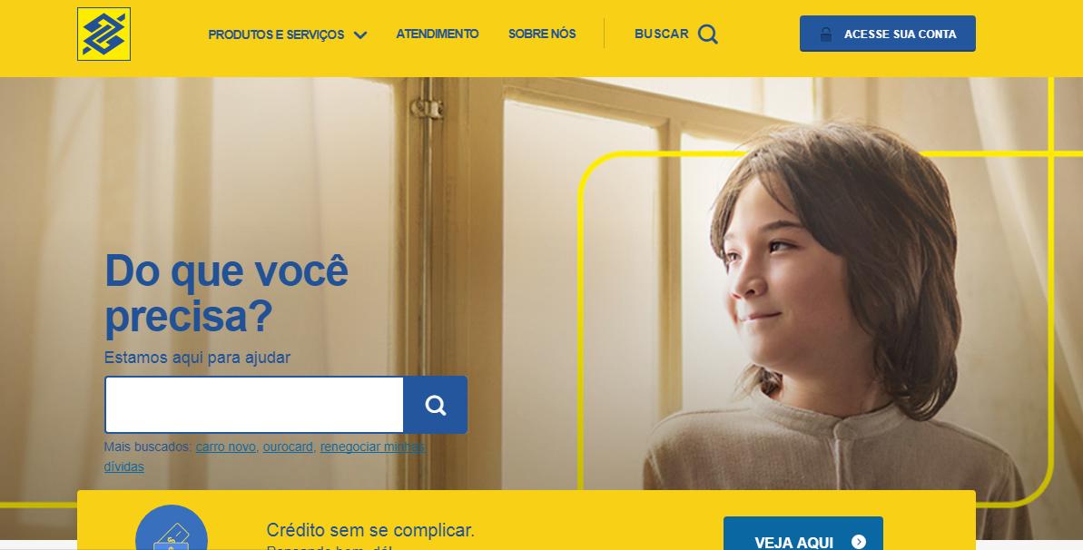 Banco do Brasil web site
