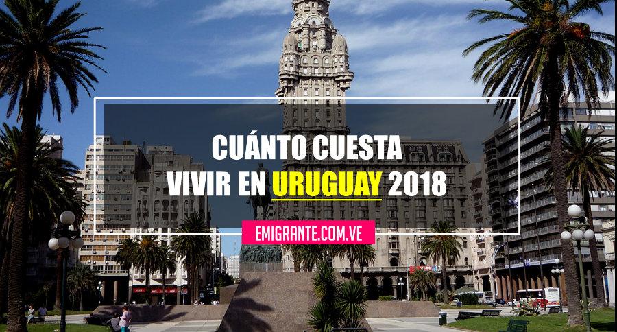 Cuánto cuesta vivir en Uruguay 2018