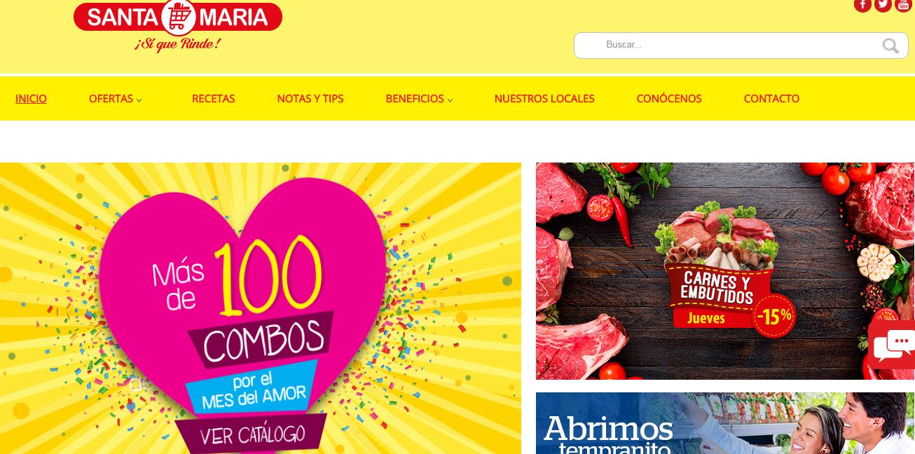 Supermercado Santa Maria Ecuador+