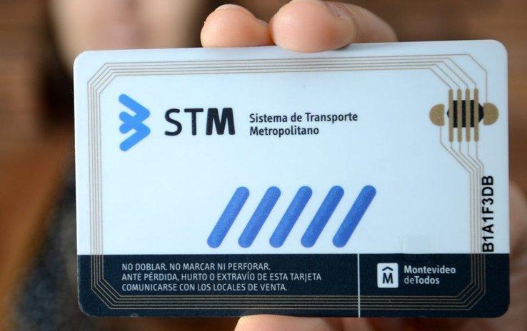 Tarjeta STM Uruguay transporte público
