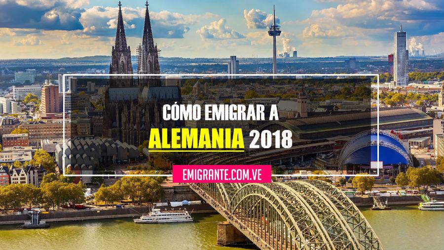 Cómo emigrar a Alemania 2018