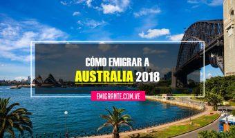 Cómo emigrar a Australia 2018