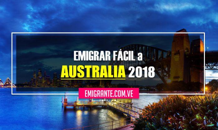 Emigrar fácil a Australia