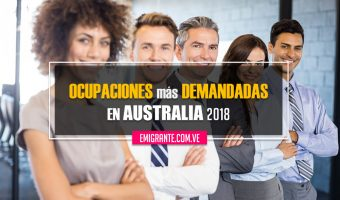 Ocupaciones más demandadas en Australia 2018