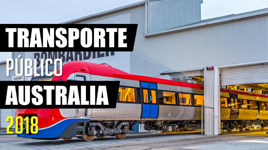 Transporte público Australia 2018