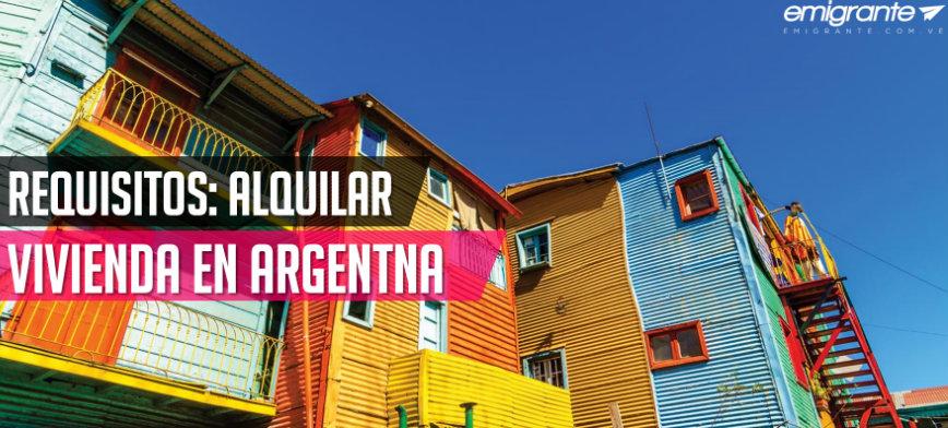 Cómo alquilar una vivienda en Argentina